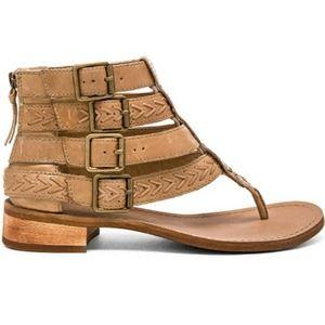 Latigo Rami Sandal 10M Birch Leather Boho Hippie